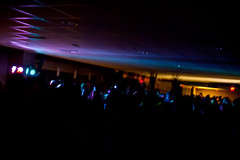 Airband After Party (michaeljzealot) Tags: lighting light party music lights dance dj afterparty airband calvincollege zhem djzhem