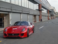 Alone in the asphalt (alexsmolik) Tags: day alone corse ferrari 63 asphalt circuit paddock clienti spafrancorchamps corseclienti ferrari599xx 599xx spafrancorchampscircuit 599xxnumber63 aloneintheasphalt