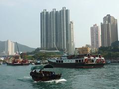 Aberdeen Harbour, Hong Kong (AC Studio) Tags: ocean china city sea urban water landscap