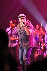 Gospel music maker Israel Houghton