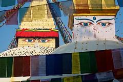 Welcome to Nepal. (Jos5941) Tags: nepal canon temple asia stupa religion buddhism kathmandu himalaya bouddhisme angers josefernandez josfernandez