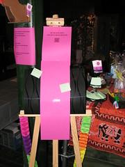Leuke dingen doen aanplakstrook (mooie wereld in een dag) Tags: beurs notebooks creatief strijkkralen vrouwenavond