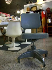 Tanker Style Office Chair (Mod Livin') Tags: modern vintage design furniture retro 1950s danish 1960s 1970s eames georgenelson hermanmiller knoll saarinen midcentury danishmodern scandinaviandesign