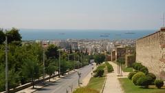 Thessaloniki center from fortress (Alexanyan) Tags: city greek hellas greece grecia thessaloniki grece salonica hellenic makedonia    griechland