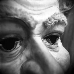 Mask1 (tomdebiec) Tags: christmas holga mask toycamera lancaster christmasmuseum christmasmask kinzers kinzerspa lancasterpae