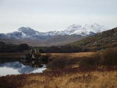 Snowdon (Fowlzy1828) Tags: winter mountain lake snow reflection wales snowdon snowdonia highest