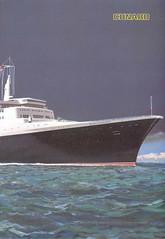 QE2MenuCover1970 (Captain Martini) Tags: cruise menu cruising cruiseship queenelizabeth2 cunard qe2 liner columbiarestaurant
