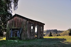 Old house, Aratora, Waikato, New Zealand (brian nz) Tags: old newzealand house abandoned home rural cabin ruins decay farm cottage hut waikato derelict dilapidated kingcountry deterioration sh3 oldandbeautiful oncewashome aratora aratoro