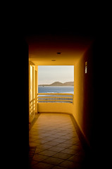 3rd Floor Hallway (*~Dharmainfrisco~*) Tags: ocean california travel vacation mexico faro hotel los sand san view pacific room january halo grand resort lucas baja dharma 2012 cabos