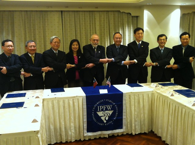 GATTE Agreement Signing in Taiwan