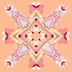 Tile 1 (DeniseCamporeale) Tags: pink red white motion flower art motif yellow architecture graphicart photoshop tile logo hearts point flow star graphicdesign movement artwork europe paint folkart pattern quilt heart antique originalartwork traditional decoration young peach violet 8 stainedglass jewelry valentine fresh artnouveau spanish textile lilac selftaught artdeco delicate decor homedecor lavendar taupe filigree churchwindow mexicantile kitchenart loversknot newyorkartist stationarydesign snowflakedesign greetingcarddesign eightpointed traditionaldecoration sunsettones ipadsketch upandcomingartist
