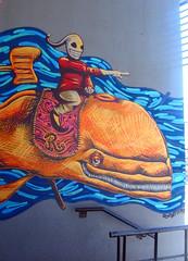 (Mariano Fernandez / El Lolo) Tags: latex aerosol naranja ballena montando tipo conduciendo subido guaso