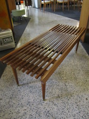 Slatted Bench (Mod Livin') Tags: modern vintage design furniture danish eames midcenturymodern midcentury teak madmen heywoodwakefield selig risom midmod johnkeal