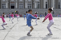 Mass games rehearsal (James Gourley Photography) Tags: war child south korea bomb performers northkorea pyongyang dprk arirang democraticpeoplesrepublicofkorea hamhung
