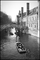 Mathematical bridge (James P Stevenson) Tags: 35mm voigtlnder bessar3a ilfordfp4plus diybw noktonclassic40mmf14 ilfosols homeprocessed voigtlnderbessar3a voigtlndernoktonclassic40mmf14
