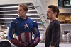 Chris Evans (Steve Rogers / Captain America), Robert Downey Jr. (Tony Stark / Iron Man)