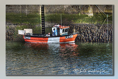 Waiting for the Tide. (Bill McKenzie / bmphoto) Tags: fishermen best eyemouth eos5dmkii