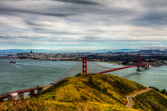 My Backyard in San Francisco II (tobyharriman) Tags: california ca city toby northerncalifornia canon photography golden bay gate san francisco photographer marin scenic bridges ridge goldengatebridge lee 7d area headlands harriman filters sausalito hdr parkpic tobyharriman