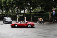 Ferrari 308 - Paris, France (garyhebding) Tags: street paris france europe european ferrari canonef1740mmf4lusm 308 canoneosrebelxti
