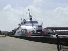 Vessel (LookaroundAnne) Tags: river boat offshore norfolk vessel yarmouth greatyarmouth windfarm windpower riveryare