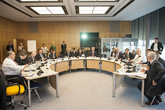 Ministers' Roundtable underway at Congress Center Leipzig