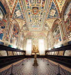 The Three Graces Of Siena (Philipp Klinger Photography) Tags: santa italien windows people italy panorama sculpture moon 3 tree church window statue architecture painting book three nikon europe italia angle cathedral maria mosaic sacral library bibliothek religion wide decoration wideangle books medieval ornament biblioteca tuscany threegraces di siena duomo toscana philipp fresco renaissance hdr graces fresko d800 toskana cattedrale piccolomini assunta klinger 3graces sienacathedral vertorama cattedraledisantamariaassunta dcdead nikond800 duomodiesiena