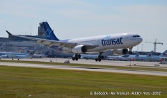 Air Transat - A330-300 - C-GCTS (Tristar Aviation) Tags: a330 airtransat