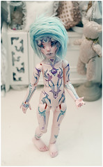 Colorfish! (Bluoxyde) Tags: boy art toy doll ooak carving bjd resin custom abjd repaint dollmore narsha zihu