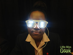 Little Miss Geek Wearable Tech Event (LadyGeekTV) Tags: technology tech programming dell microsoft belinda computerscience coding itc cutecircuit parmar katyperry britishfashioncouncil ladygeek mztek technologywillsaveus littlemissgeek