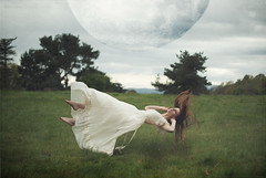 moonchild (elle.hanley) Tags: woman moon nature hair dress levitation float texturebylesbrumes vivadeva ladymisselle