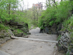 Stair In Spring (jschumacher) Tags: nyc stairs morningsidepark
