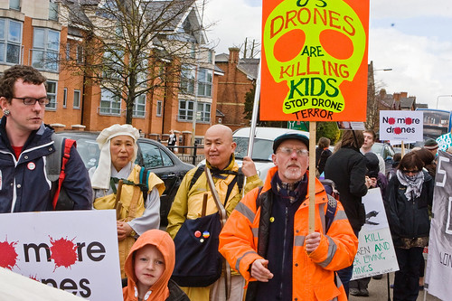 RAF Waddington Drone Demo (Apr 2013)  013