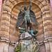 Saint-Michel Fountain - HDR