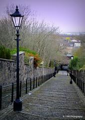 Paisley (Rollingstone1) Tags: street landscape scotland streetlamp lane cobbles paisley wynd