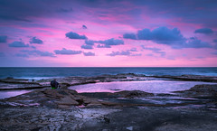 Waiting for the Sunrise. (Tacksoon) Tags: morning beach sunrise deewhy focusgroup