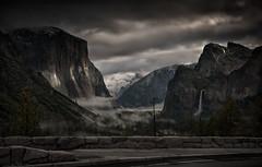 Midnight In The Valley (WJMcIntosh) Tags: storm yosemite moonlight yosemitenationalpark elcapitan tunnelview