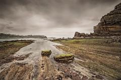 Portio (Jose Peral Merino) Tags: sea sky landscape mar stones cielo rocas cantabrico liencres costaquebrada portio