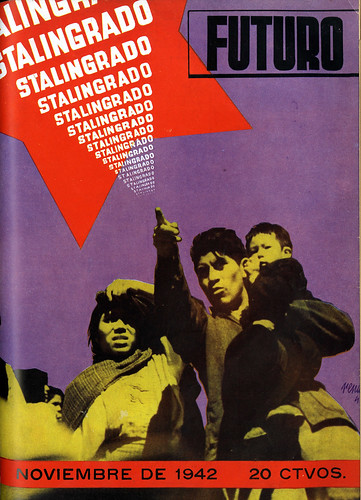 Portada de Josep Renau Berenguer para la Revista Futuro (noviembre de 1942)