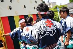 Happi wear  ---Clothes for festival--- (Teruhide Tomori) Tags: people festival japan event  float  gifu ogaki  ogakifestival importantintangiblefolkculturalproperties