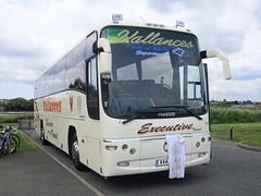 Vallances Coaches of Kirkby-in-Ashfield 'Tallulah II' V44LLN (front) (harryjaipowell) Tags: 2003 nottingham bus coach sold marshall isleofwight iveco sandown iow paragon oswestry plaxton westbyfleet kirkbyinashfield dinosaurisle eurorider c49ft 397e1235 owenscoaches fg03jcv vallancescoaches v44lln atcoaches tallulahii