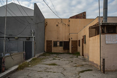 Behind Shops (Alec C Miller) Tags: street urban west color detail art digital buildings landscape photography los cityscape angeles decay fine lot hollywood topography