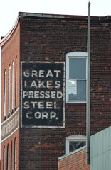 Ghost Sign (jmaxtours) Tags: new york sign buffalo buffalony ghostsign buffalonewyork pressedsteel buffaloghostsign greatlakespressedsteelcorp