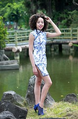 DP1U4484 (c0466art) Tags: park old light sea portrait building green pool girl beautiful creek canon garden costume nice interesting eyes scenery pretty skin outdoor gorgeous chinese large style double lips figure caribbean tall lovely charming tranditional 1dx c0466art