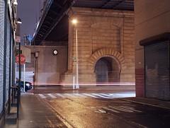 (Chris Giuliano) Tags: nyc newyorkcity longexposure nightphotography mamiya film night manhattan lowereastside mamiya645 120mm ektar filmphotography