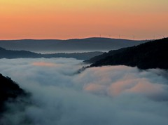 Silent Lucidity (Trains & Trails) Tags: morning mist mountains nature sunrise outdoors dawn pennsylvania foggy scenic explore valley overlook fayettecounty laurelhighlands youghioghenyriver casparis