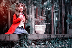 Rin Tohsaka | FATE/STAY NIGHT cos Masae (CAA Photoshoot Magazine) Tags: portrait anime cosplay wordpress portraiture cosplayer cosplayers  caa featured fatestaynight rintohsaka 500px cosplayphotography unlimitedbladeworks cosplayphotographer