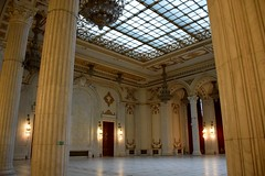 Marble Hall (y entonces) Tags: romania marble bucharest palatulparlamentului palaceoftheparliament