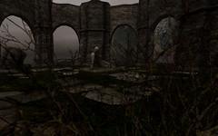 Eternal (~*Emilia*~) Tags: statue ruins sl secondlife sh08 slscavengerhuntxxx