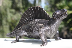 Vintage Dimetrodon Model (Donald Deveau) Tags: dinosaurs vintagetoy modelkit dimetrodon