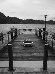 Lago-Iseo2-V-7 (elettrico1977) Tags: blackandwhite lake lago barca acqua molo biancoenero pontile iseo lovere